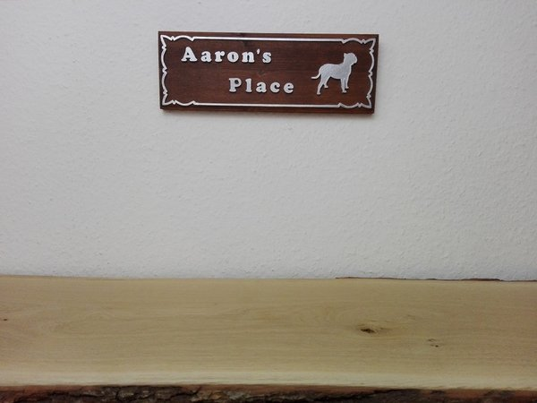 3D-Logo - Aaron´s Place - individuell